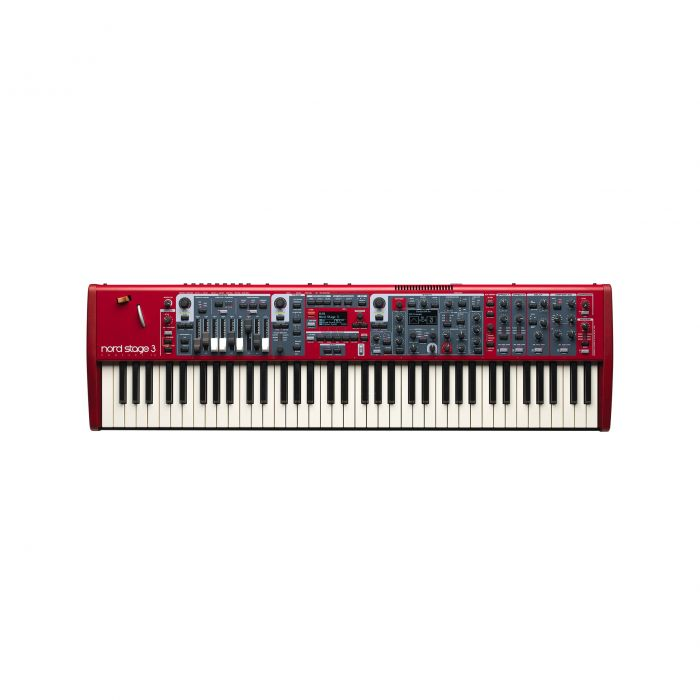 Nord Stage 3 Compact Performance Keyboard Top View