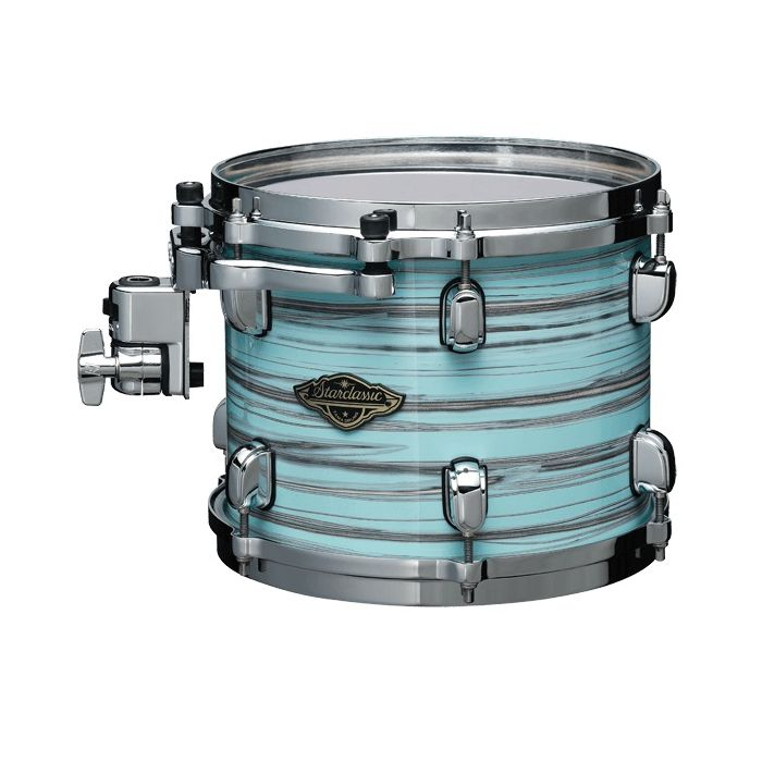 Tama Starclassic Walnut/Birch Tom Drum 8 x 6 Lacquer Arctic Blue Oyster