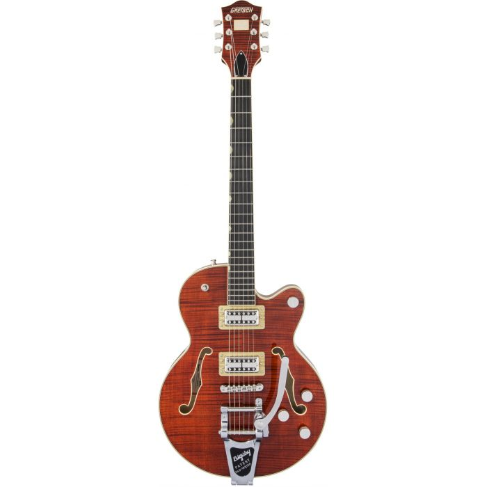 Gretsch G6659tfm Players Ed Broadkaster Junior Bourbon Flame