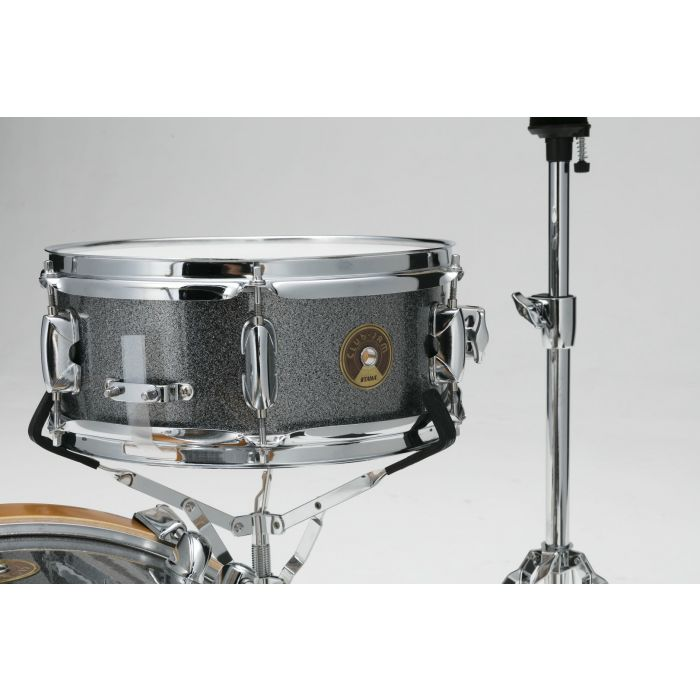 Tama Compact Club Jam Mini Shell Pack with Hardware Galaxy Silver Snare Drum