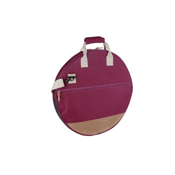 Tama Powerpad Designer Cymbal Bag 22 Inch Wine Red Back