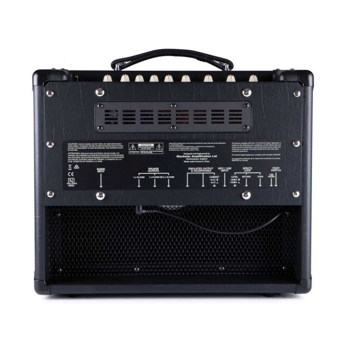 Blackstar HT-5R MkII 5w Valve Combo Guitar Amplifier Rear