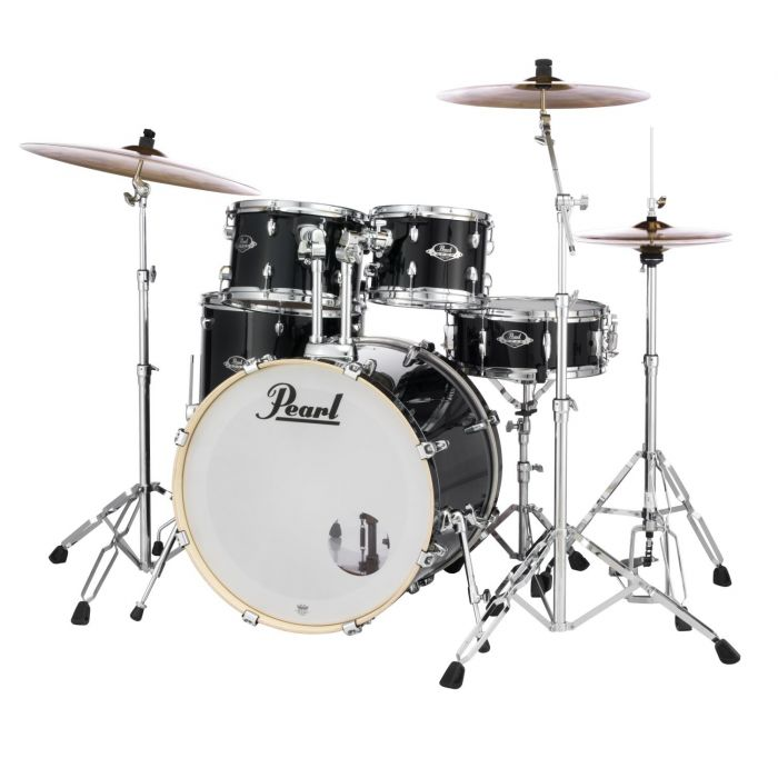 Front Right Angle of Pearl Export EXX Drum Kit