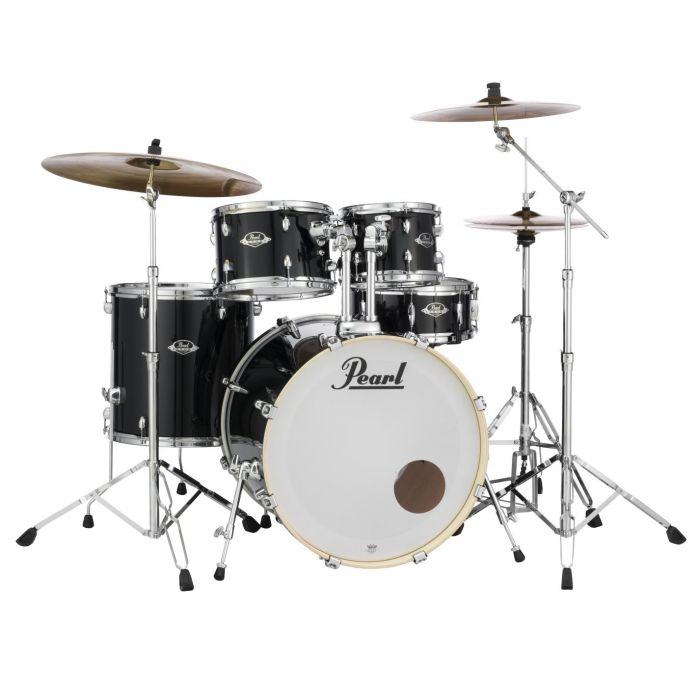 Front Left Angle of Pearl Export EXX Drum Kit