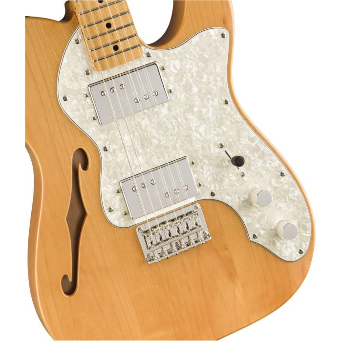 Squier Classic Vibe 70s Telecaster Thinline MN Natural Body