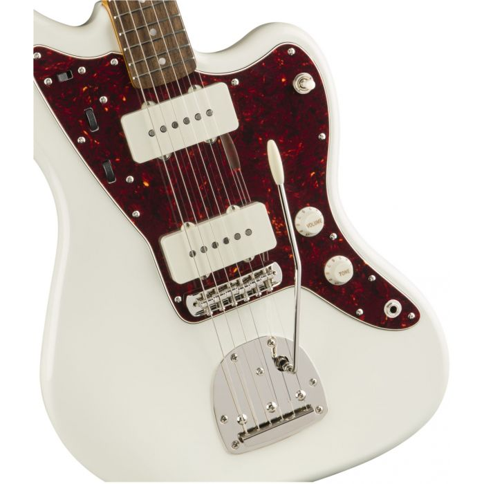 Squier Classic Vibe 60s Jazzmaster IL Olympic White Body Detail