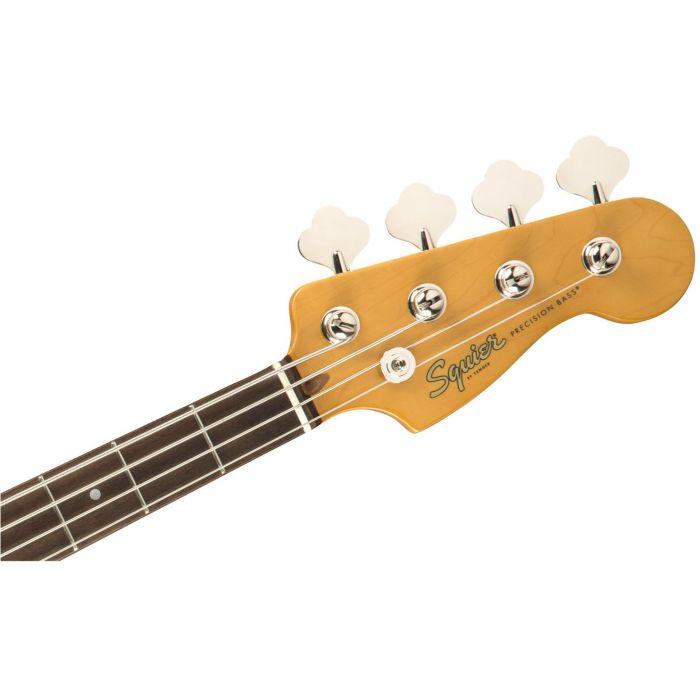 Squier Classic Vibe 60s Precision Bass IL 3-Colour Sunburst Headstock