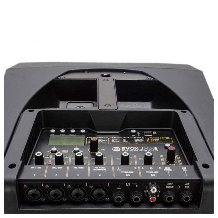 JMIX8 Mixer Section including Inputs and Outputs