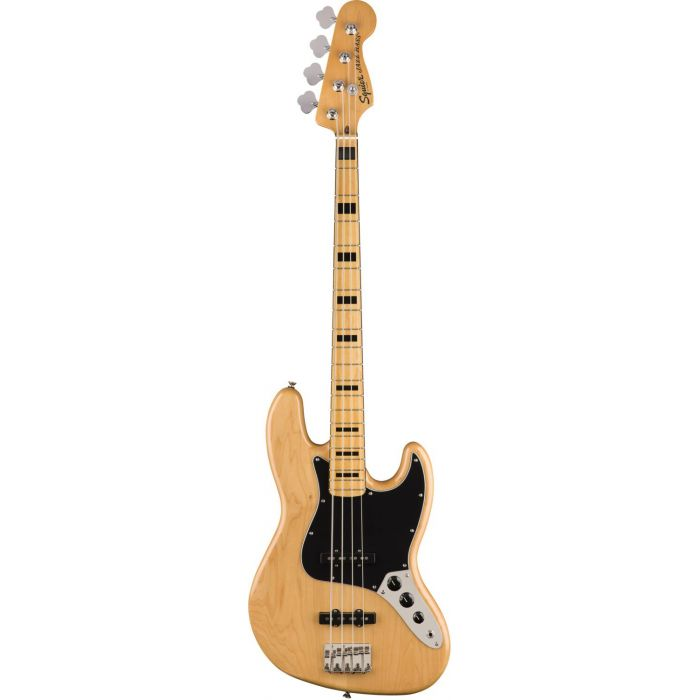 Squier Classic Vibe 70s Jazz Bass Maple FB Natural