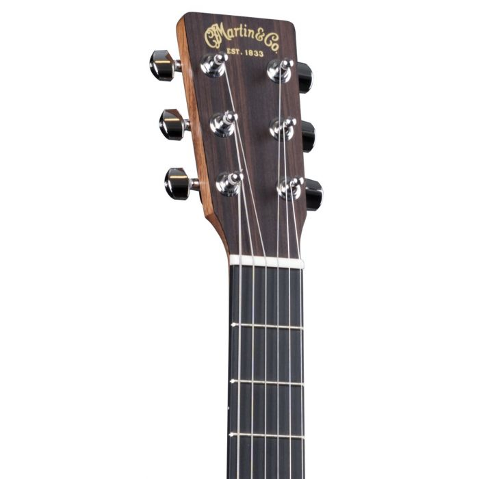 Martin Dreadnought Junior DJR-10E Electro-Acoustic Guitar Cherry Stain Headstock