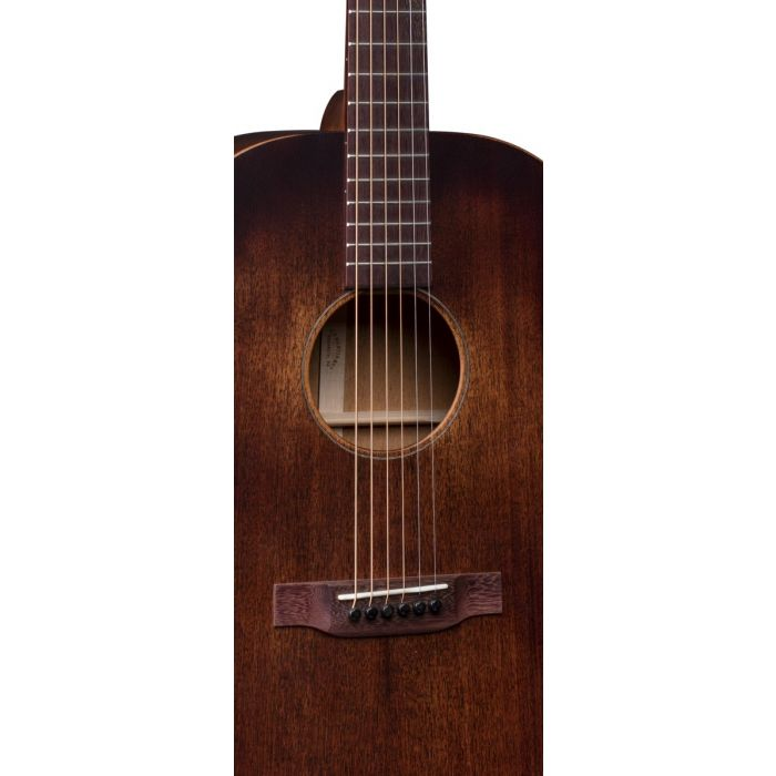 Martin DSS-15M Streetmaster Acoustic Guitar Soundhole