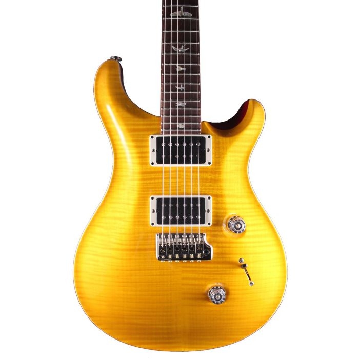 PRS Custom 24 Vintage Yellow Flame Maple Katalox Fretboard