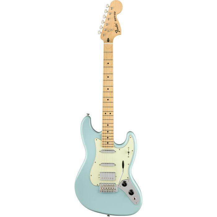 Fender Sixty-Six MN Daphne Blue