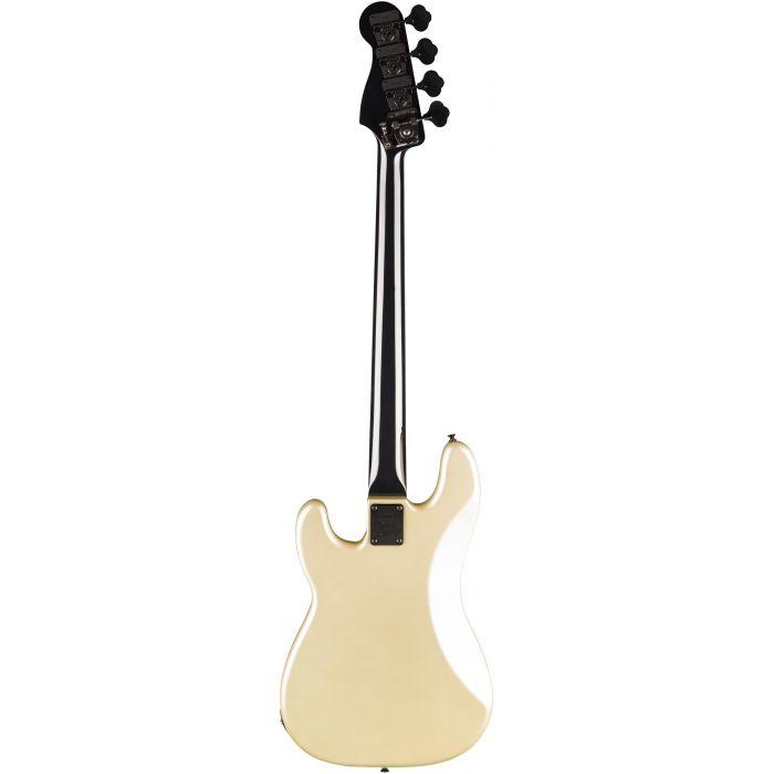 Fender Duff McKagen Deluxe Precision Bass RW White Pearl Back