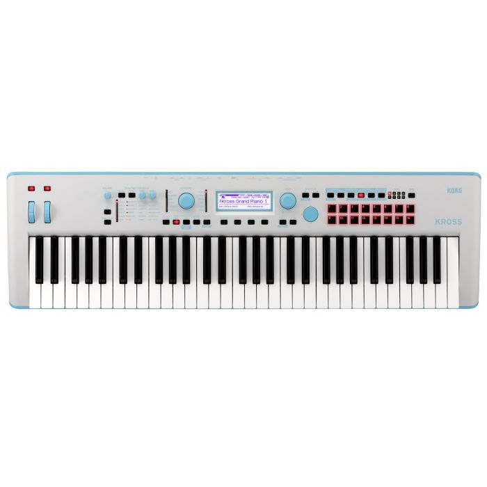 Korg Kross 2 Special Edition Neon Blue Synthesizer Workstation