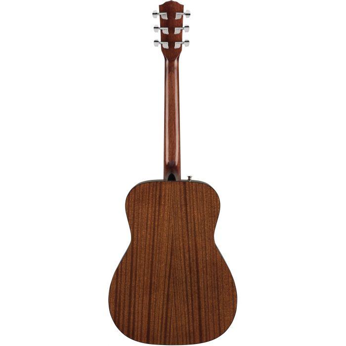 Fender CC-60S Concert Acoustic Guitar WN Natural Back