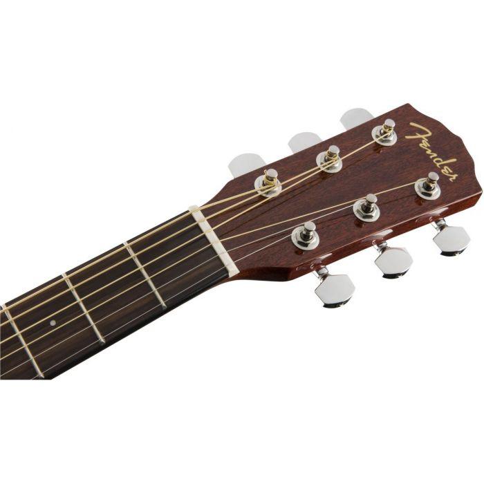 Fender CC-60S Concert Acoustic Guitar WN Natural Headstock