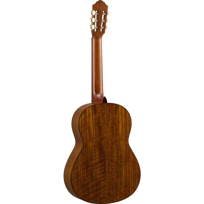 Yamaha CG-TA TransAcoustic Classical Guitar Back