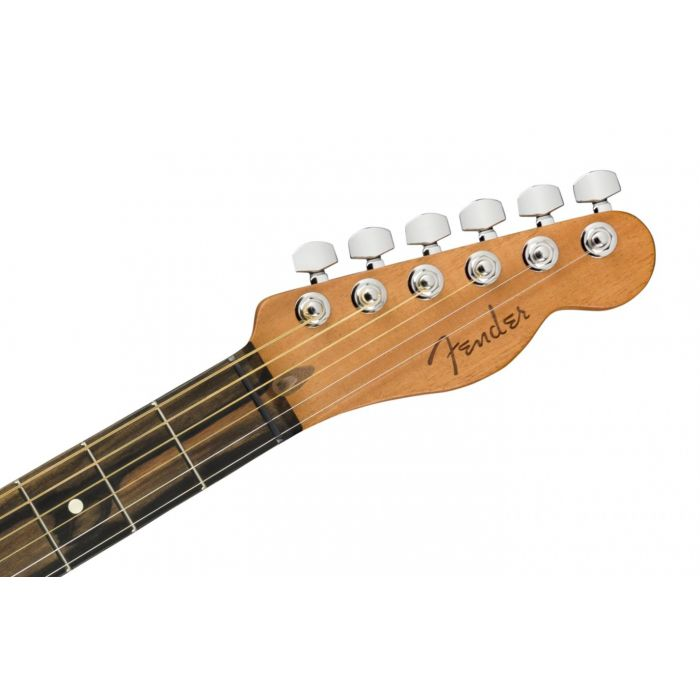 front of headstock
