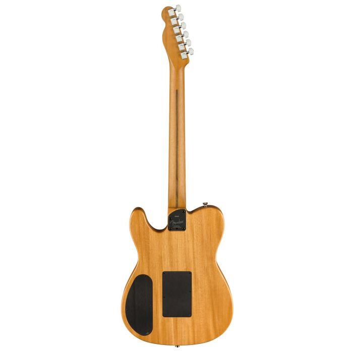 Rear of Guitar