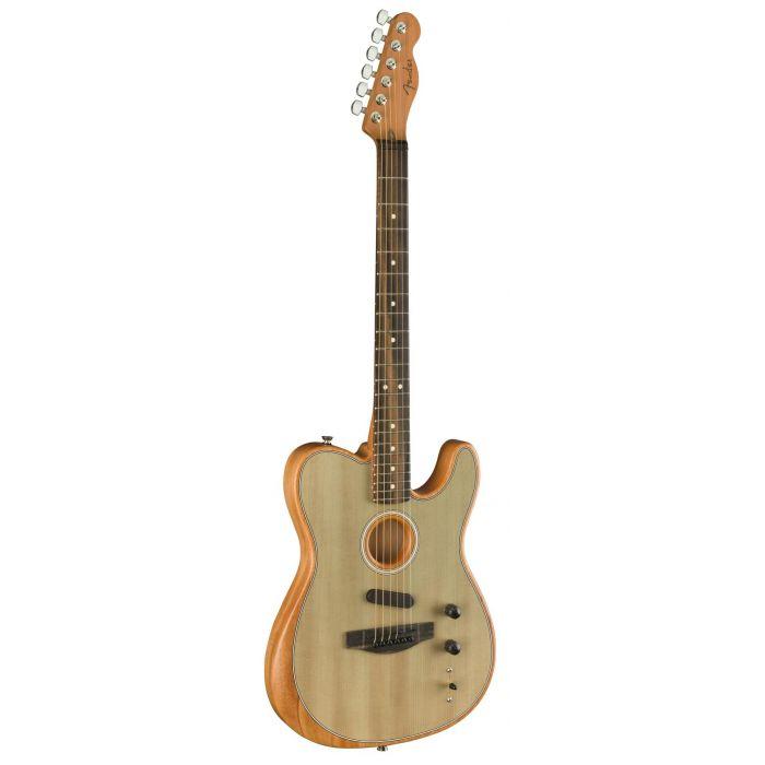 Side Angle of Guitar