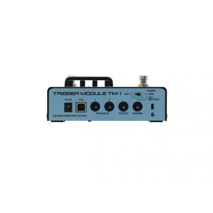 Rear panel inc. connectors