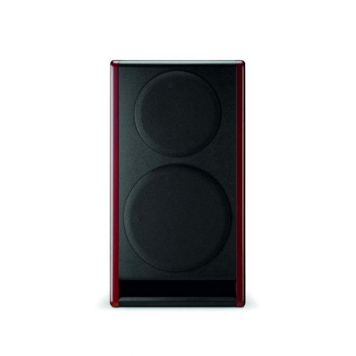 Front of Speaker with Grille, Vertical Position