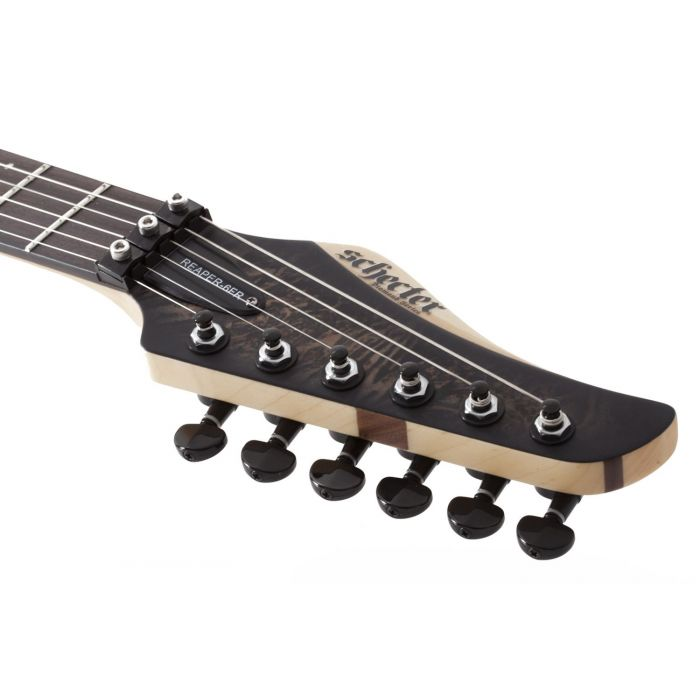 Schecter Reaper-6 FR Charcoal Burst LH Electric Guitar