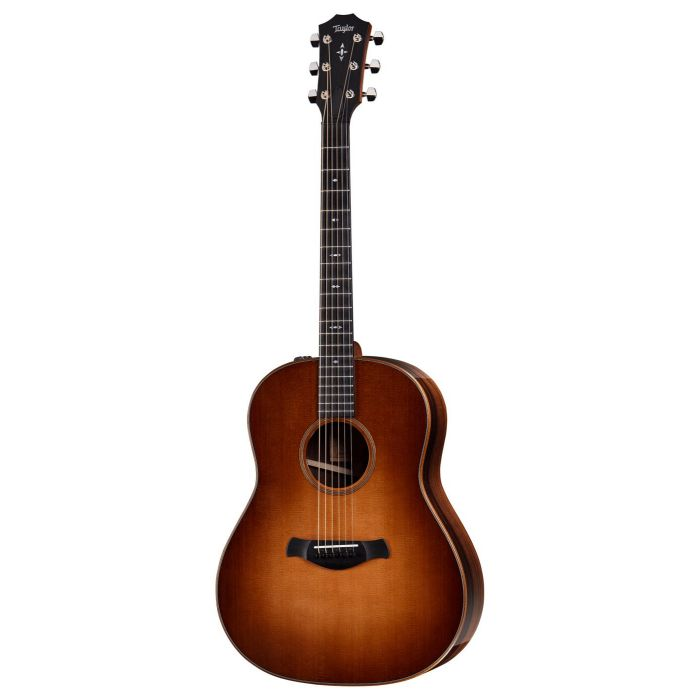 Front view of a Taylor Builder's Edition 717e Grand Pacific Wild Honey Burst