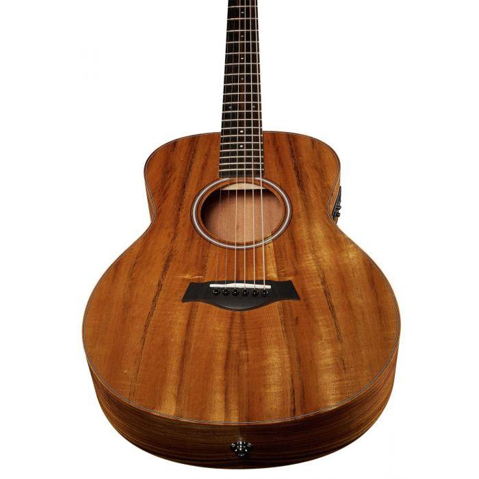 Taylor GS Mini-e Koa Left Handed Electro-Acoustic Guitar Bottom