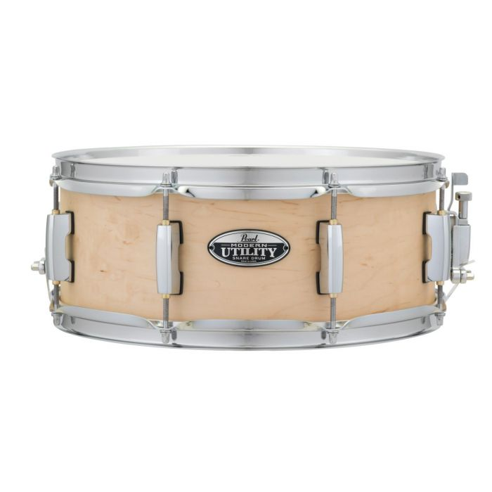 Pearl Modern Utility 14 x 5.5 Inch Maple Matte Natural Snare Drum