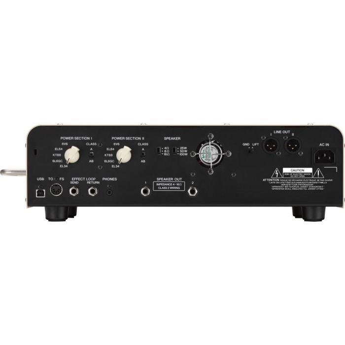 Yamaha THR100HD Dual Guitar Amp Head Rear