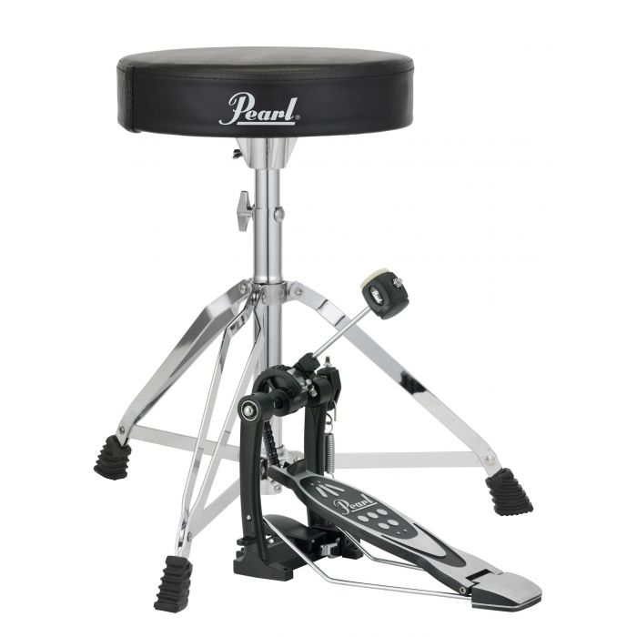Pearl P-530 Pedal and D-50 Throne Bundle