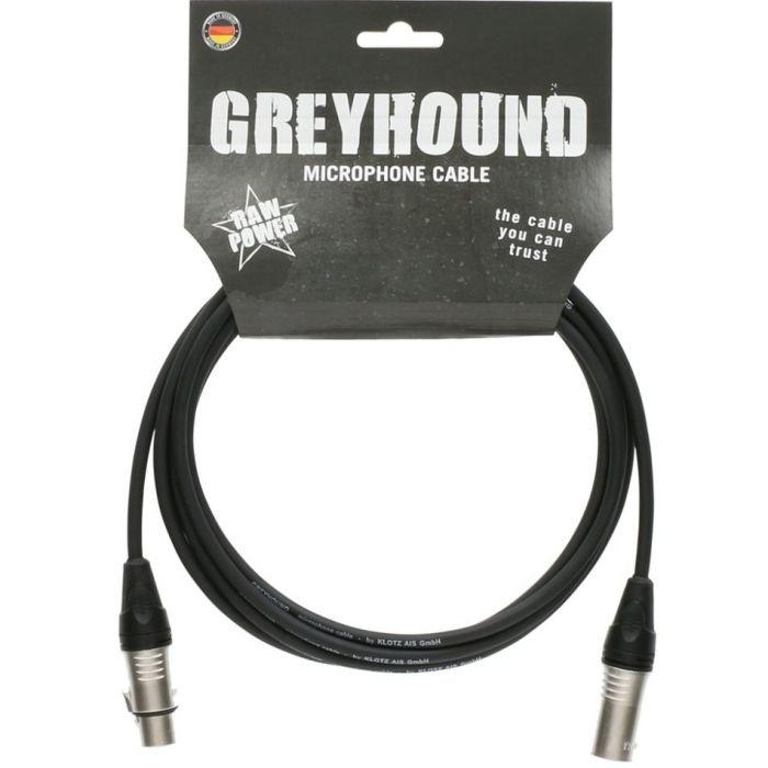 Klotz Greyhound Mic Cable Black 10m