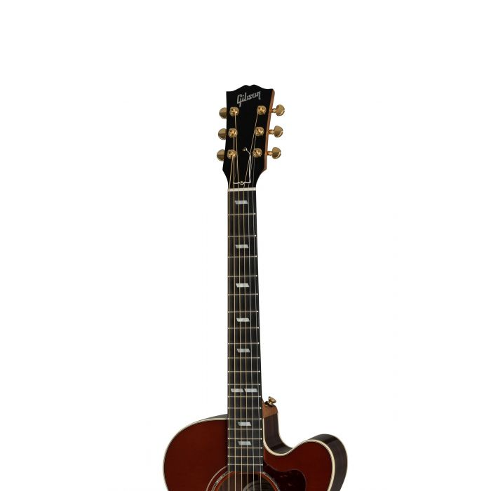 Gibson Parlour Rosewood Avant Garde 2019 Rosewood Burst Neck