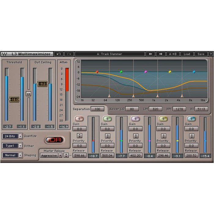 Waves Dave Aude EMP Toolbox Multimaximiser Alternate