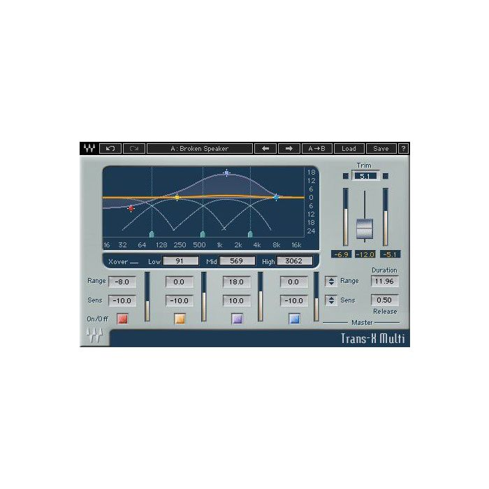 Waves Dave Aude EMP Toolbox Trans-X Multi