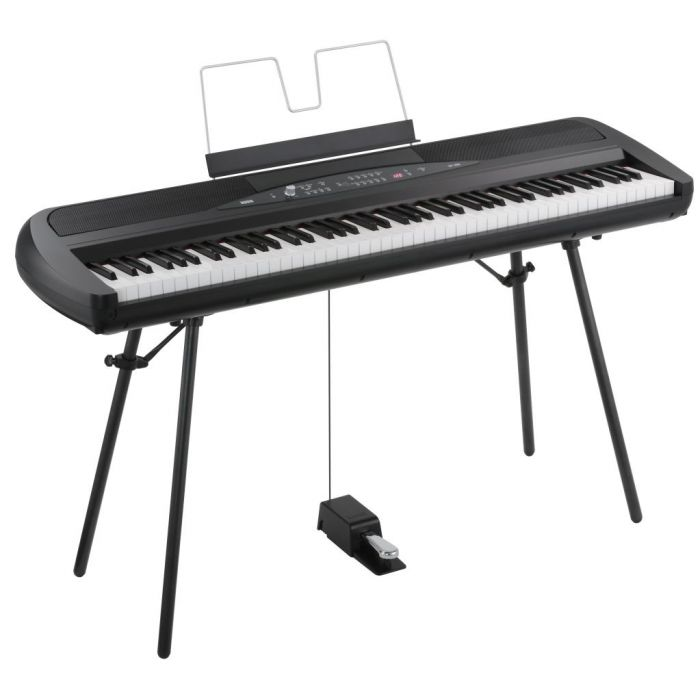 Korg SP-280 Digital Piano with Pedal and Stand
