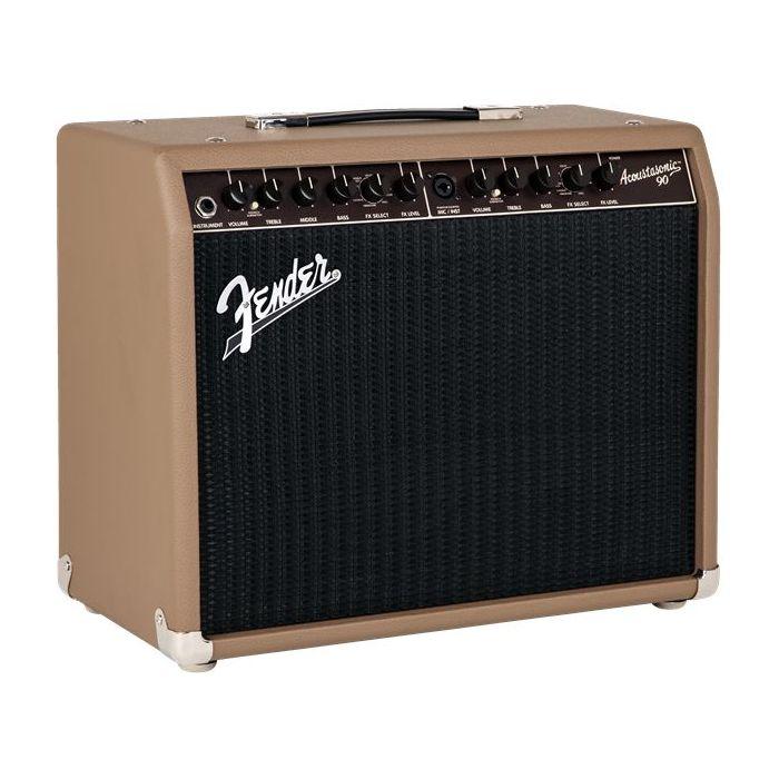 Fender Acoustasonic 90 Guitar Amplifier Combo Angle