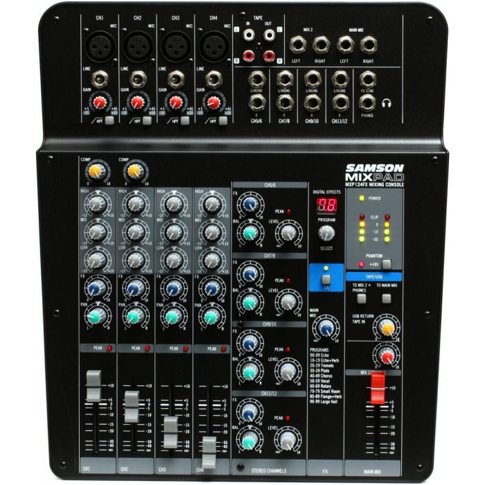 Samson Mixpad MXP124FX Mixing Desk with FX and USB