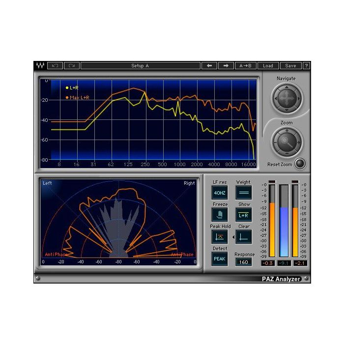 Waves Forensics Package Paz Analyzer