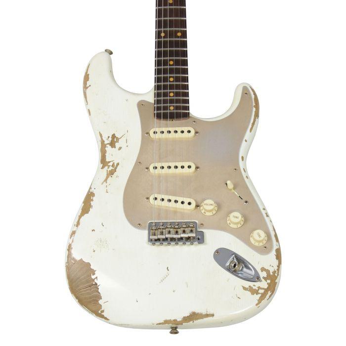 Fender Custom Shop LTD 59 Strat Heavy Relic Aged Olympic White Body