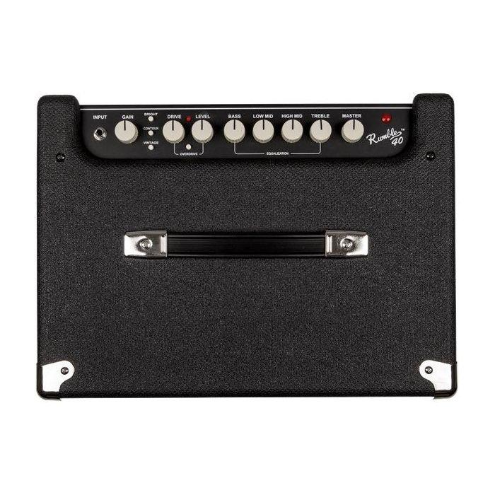 Fender Rumble 40 V3 Bass Guitar Combo Top Control Panel