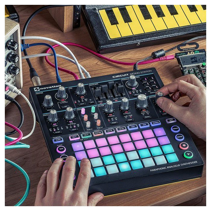 Novation Circuit Mono Station In Use