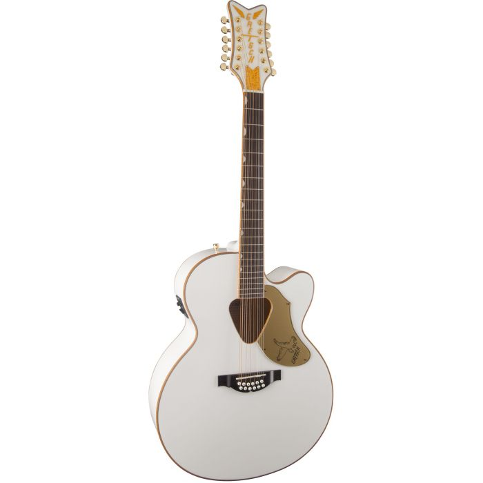 Gretsch G5022CWFE Falcon 12 String Electro Acoustic Guitar Angle
