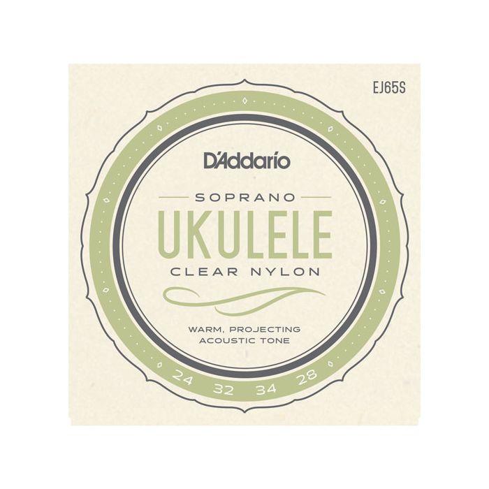 D'Addario EJ65S Pro-Art Soprano Ukulele Strings