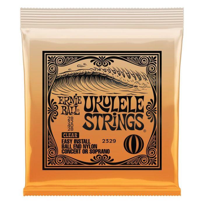 Ernie Ball 2329 Clear Ukulele Strings Set