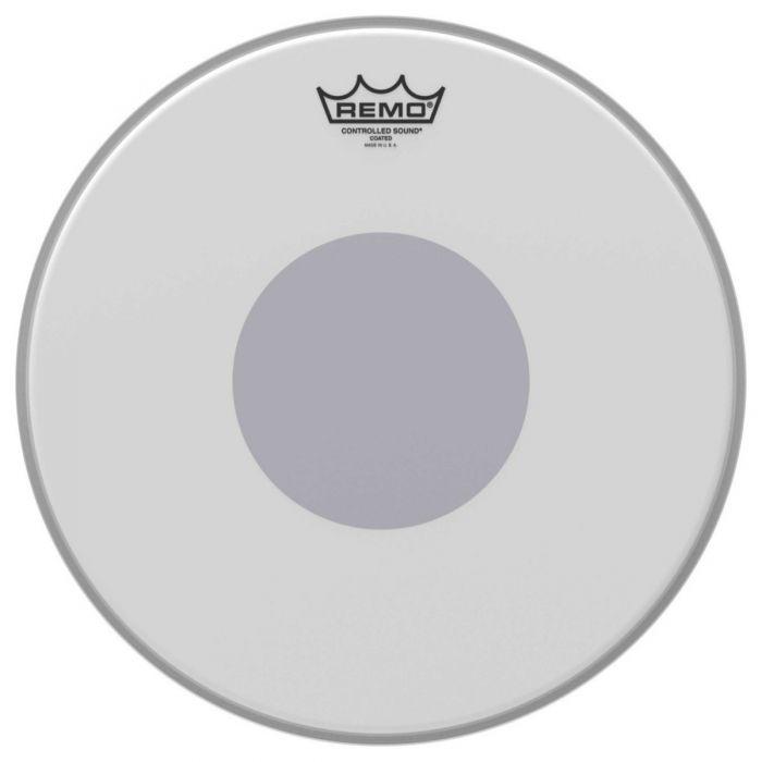 Remo CS-0114-10 14 CS Coated Black Dot Drum Head