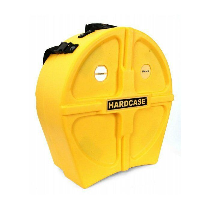 """Hardcase 14"""" Snare Case in Yellow"""
