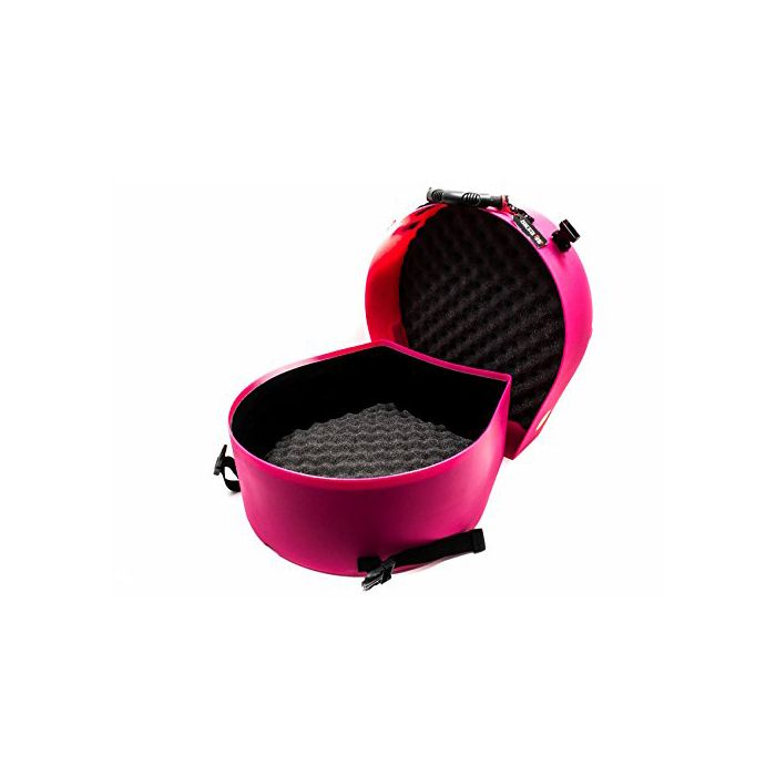 """Hardcase Pink 14"""" Snare Case Fully Lined"""
